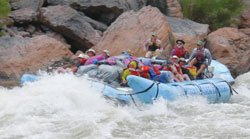 Rafting on the Colorado River