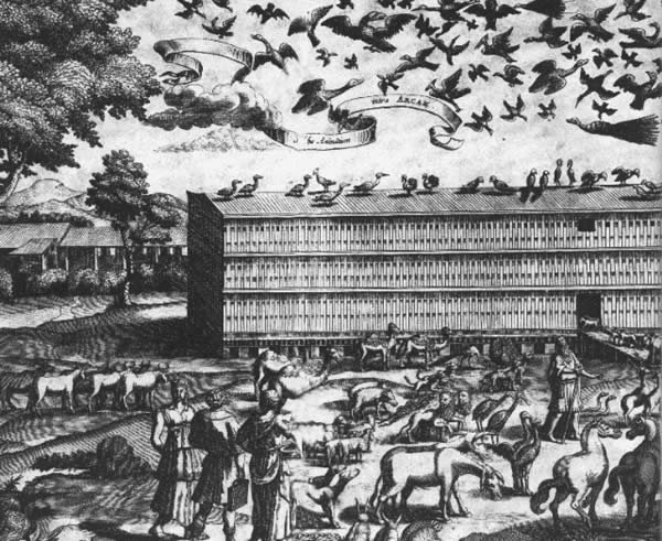 Athanasius Kircher's depiction of Noah's Ark