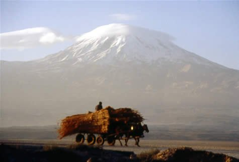 Mount Ararat from the south