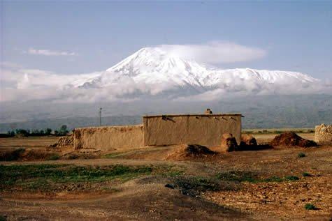 Mt. Ararat from the north