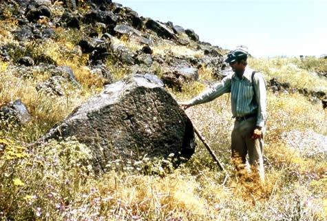 Pre-cuneiform inscription