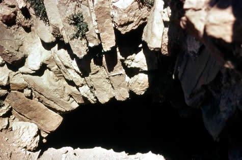 Pre-Hittite cave