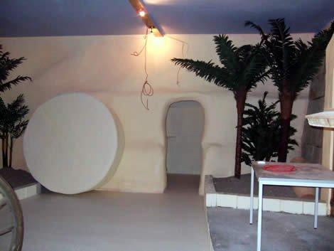 Tomb recreation