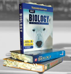 Marked Biology Textbooks