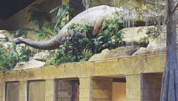 Dinosaur in Creation Museum