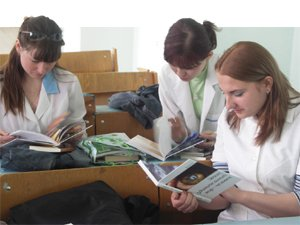 medical students in Kazakhstan