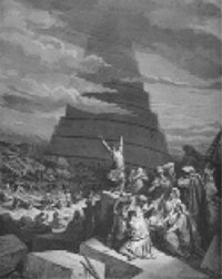 Dore's engraving of Babel