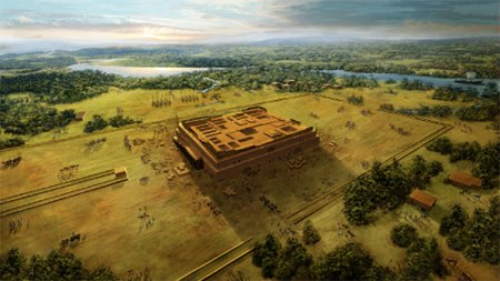 Creation Museum depiction of Babel