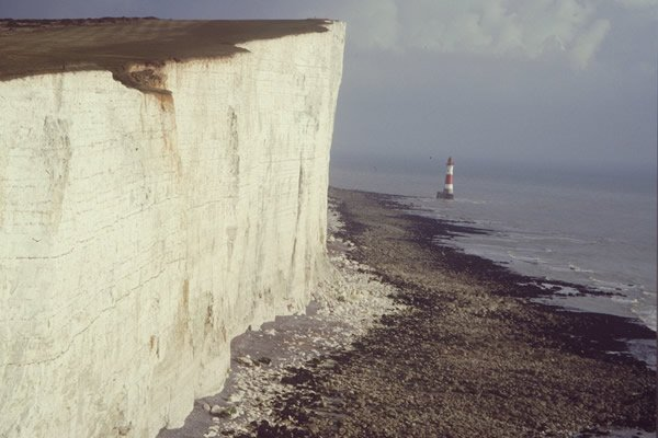 Chalk beds of southern England