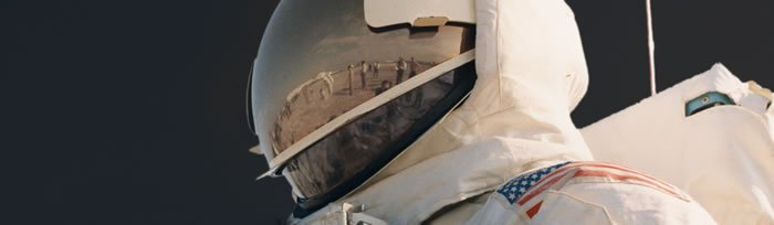 Astronaut visor