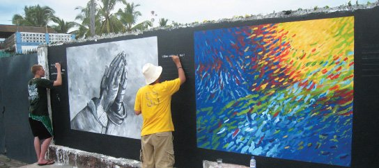 Painting Creation Murals