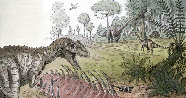 Jurassic Environment