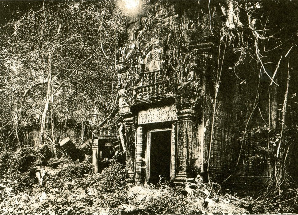 Ta Prohm in 1908 | answeringenesis.com