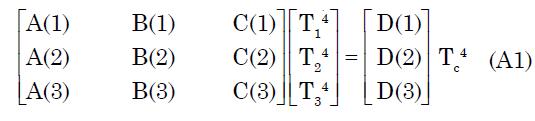 Equation A1