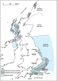 The Chalk Provinces in the United Kingdom and North Sea