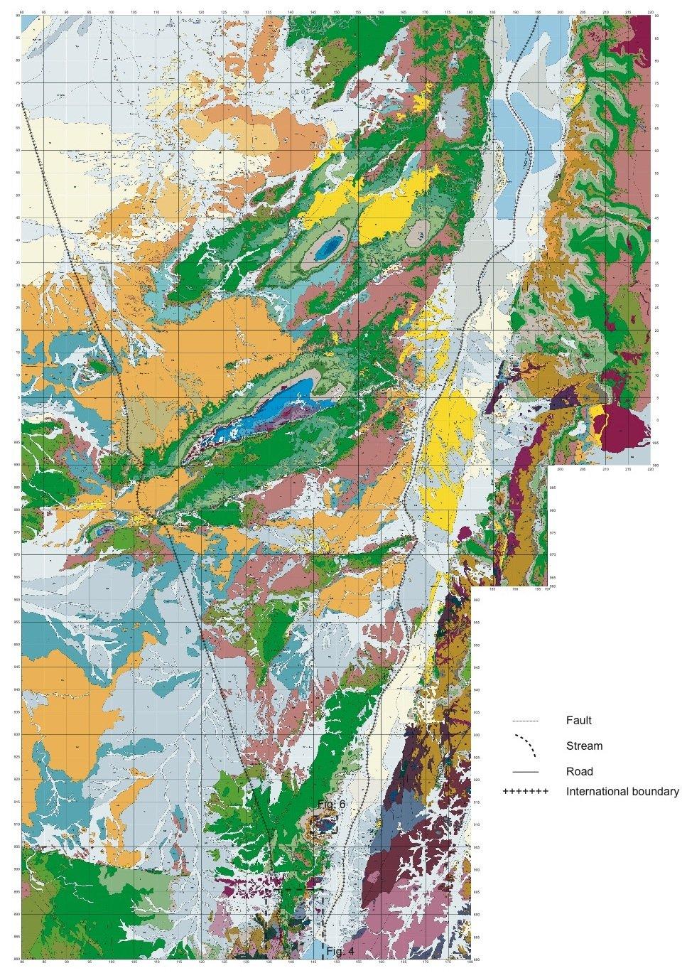 Geology of Israel in Biblical CreationFlood Framework of History