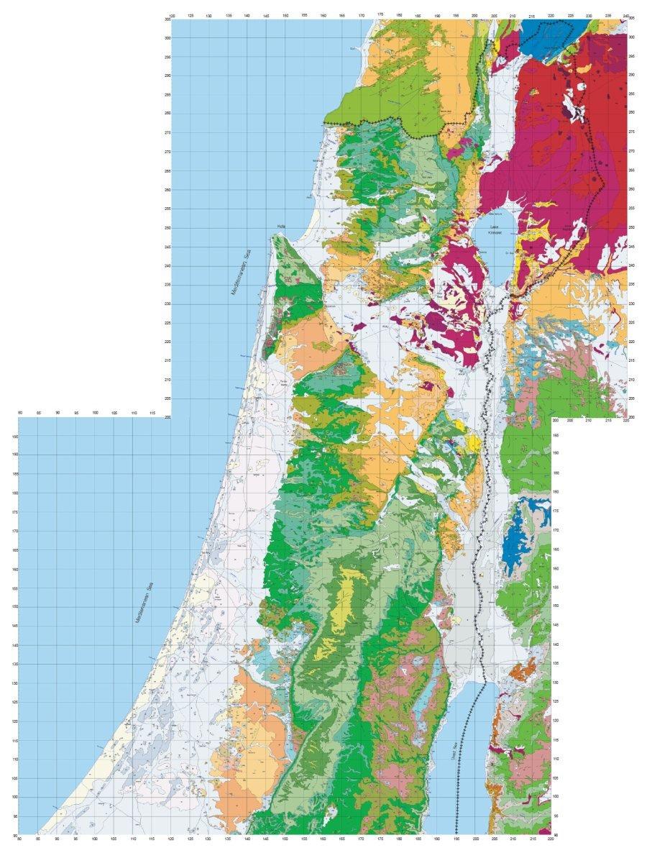 geology of israel in the biblical framework 2 the flood rocks