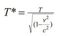 Time Transformation Equation