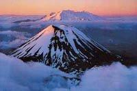 Mt. Ngauruhoe and Mt. Ruapehu