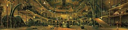 Depiction of inside of Ark