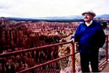 Dr. Morris at Bryce Canyon, Utah