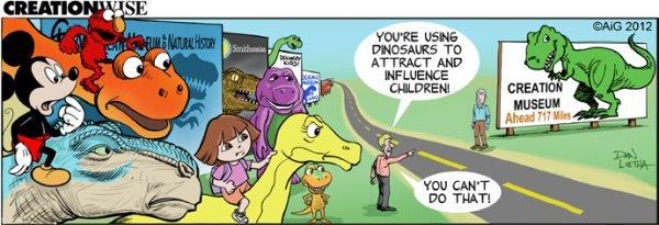 Dinosaurs to Attract Children