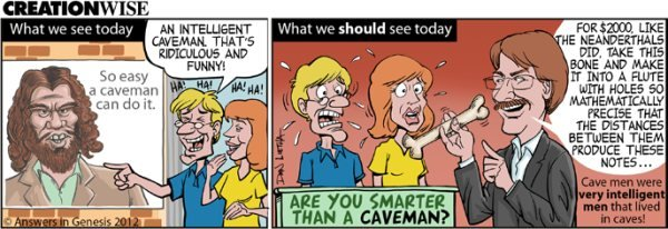 Intelligent Cavemen