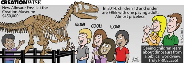 Children Learn About Dinosaurs