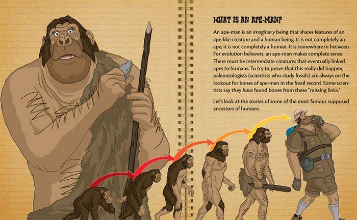 Ape-man?