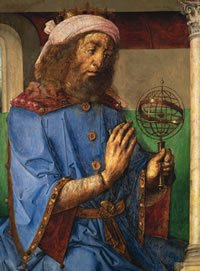 Greek astronomer Claudius Ptolemy