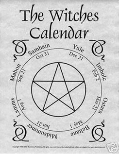 The Witches Calendar