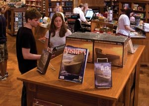 Resources in the Creation Museum gift store