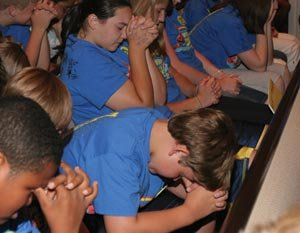Children in Operation Space VBS