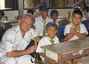 Dr. David Crandall in Thailand