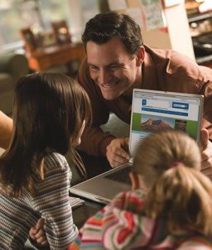Family-friendly websites