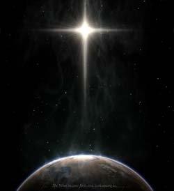 Light of Christmas background