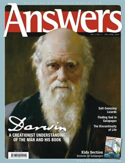Answers Magazine Darwin Issue