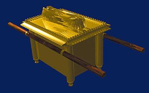 Artist's impression of the Ark of the Covenant
