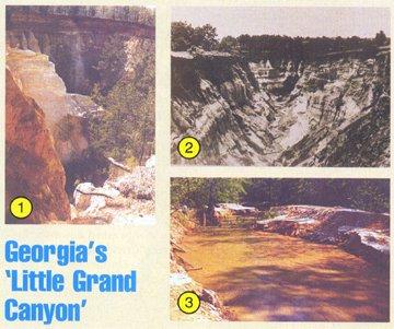 Georgia's Little Grand Canyon