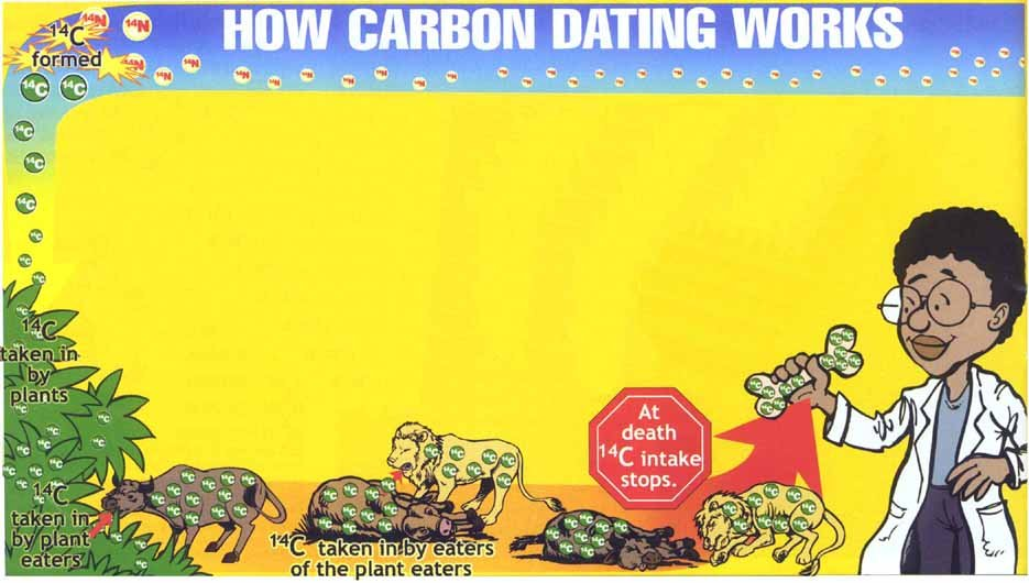 Carbon dating in archeology