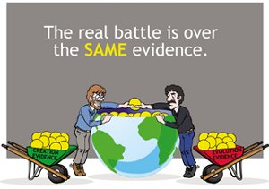 The real battle is over the same evidence.