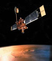 Mars Global Surveyor Orbiter.