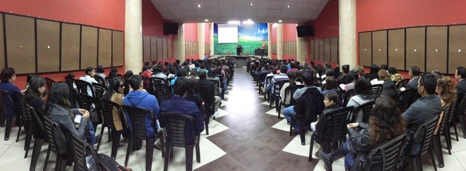 Conferencias de creacionismo en Iglesia Alianza Cristiana y Misionera de Cajamarca