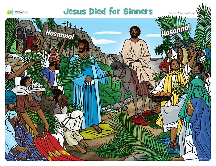 Jesus Died for Sinners