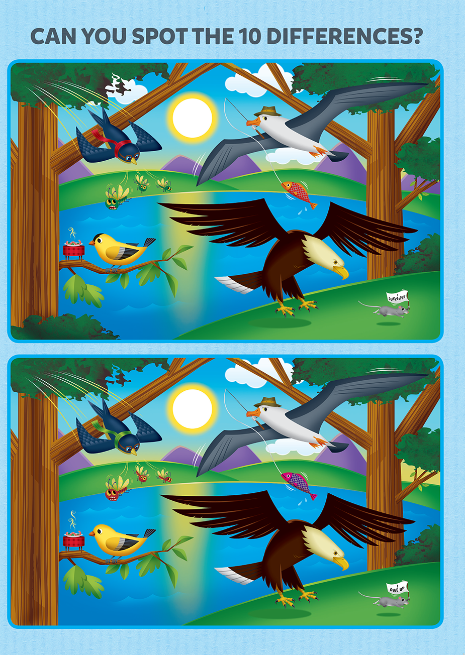 Can you find ten differences?