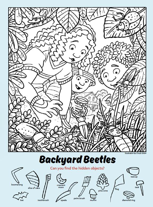 Backyard Beetles