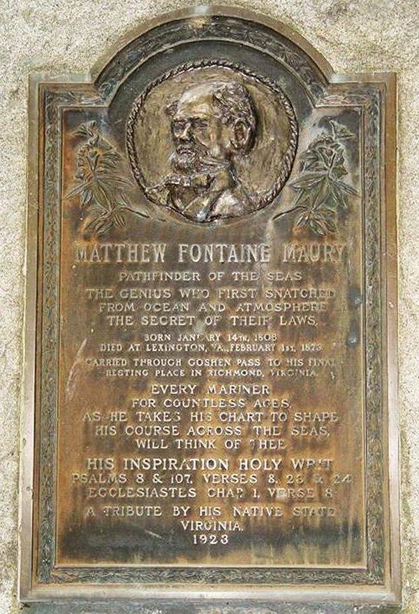 Matthew Maury Plaque
