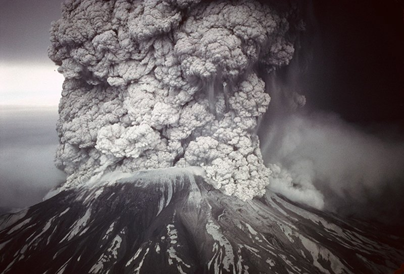 Mt. St. Helens Eruption