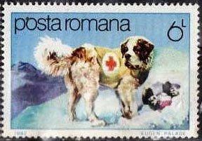 St. Bernard Stamp