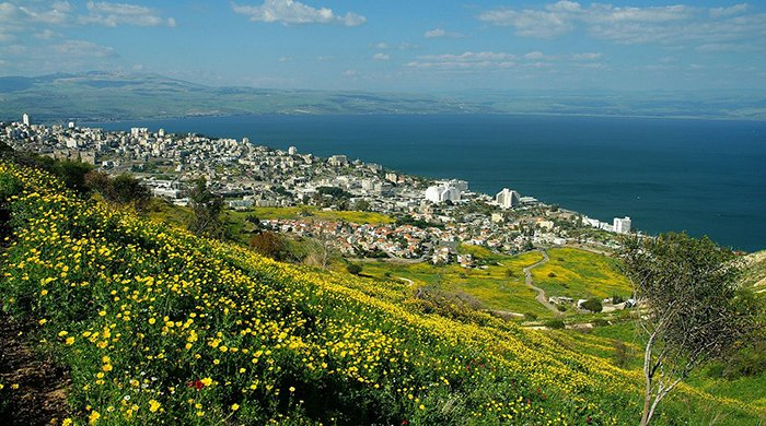 Sea of Galilee from Tiberias